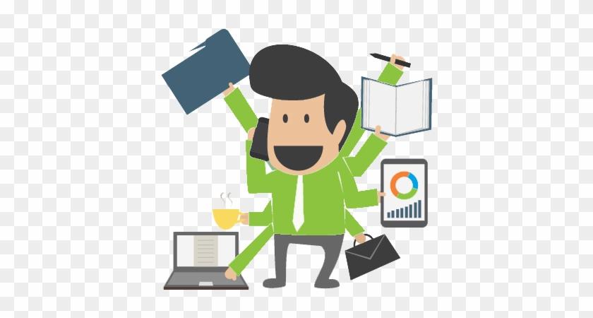 Work Vector Entrepreneur - Manager Clipart - Free Transparent PNG Download  - PNGkey