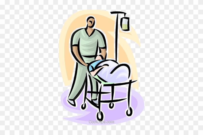 Chair Clipart Hospital - Male Nurse Clip Art #1426234