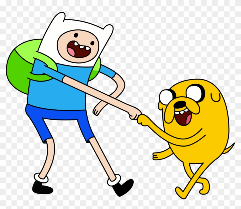 Best Buddies - Adventure Time Characters Finn And Jake #1426578
