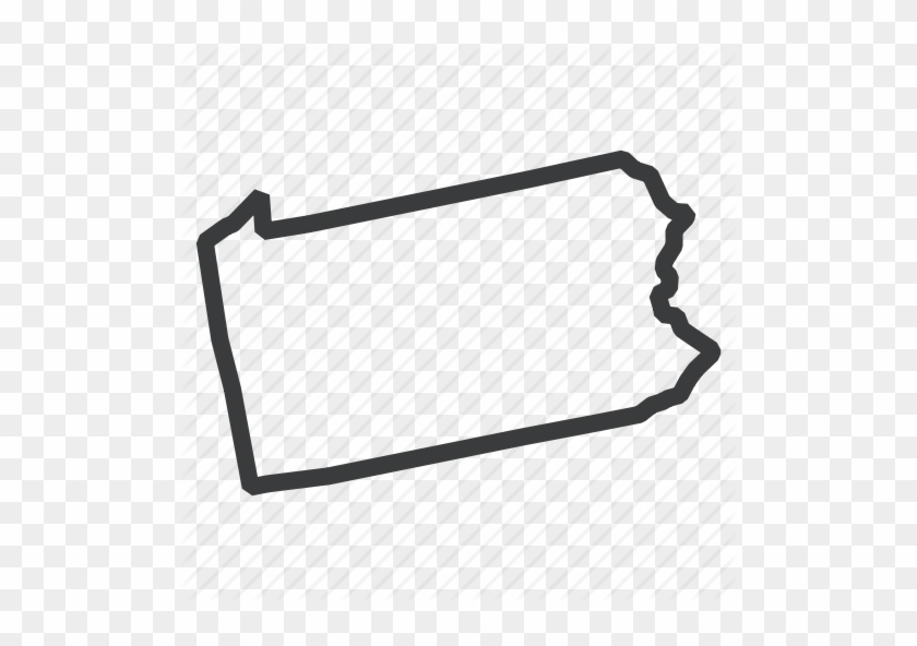 Pennsylvania State Outline Png Clipart Royalty Free Pennsylvania State Outline Icon Free Transparent Png Clipart Images Download