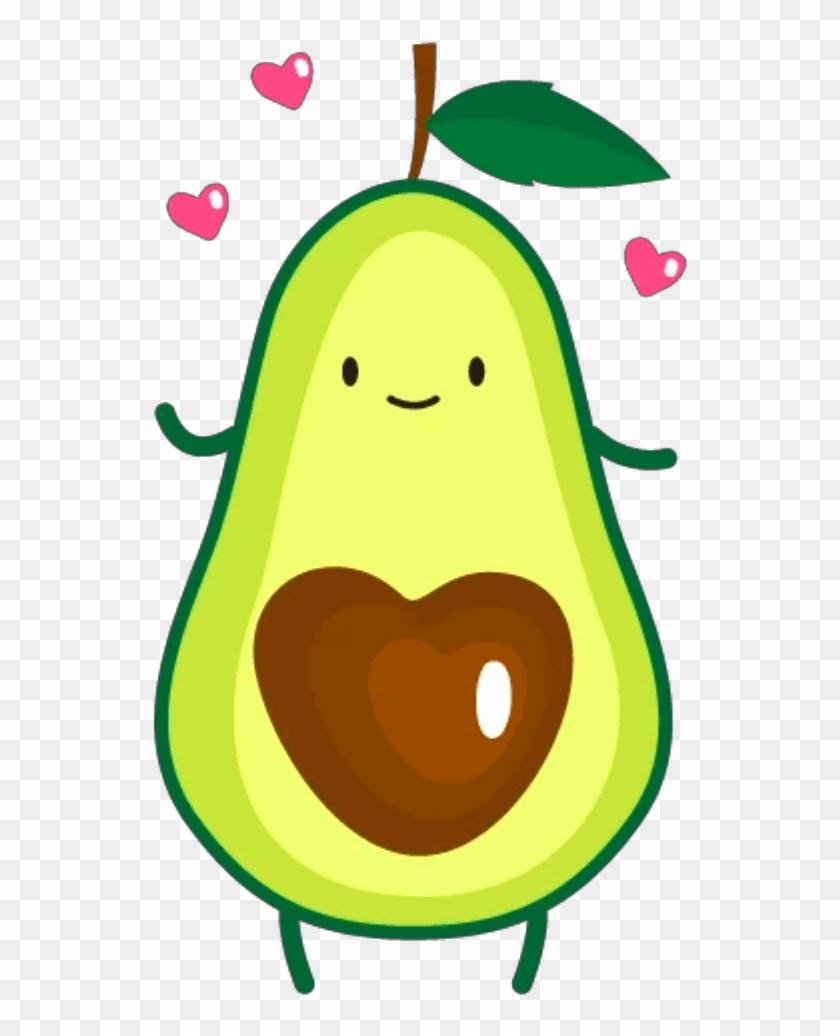 Avocado Clipart Ftestickers Clipart Avocado Cute Cute Avocado
