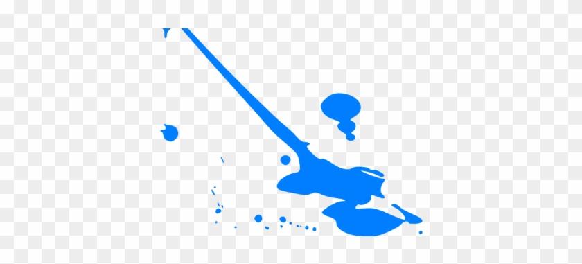 Splatter Clip Art K Pictures Full Hq - Blue Paint Splatter #1428399