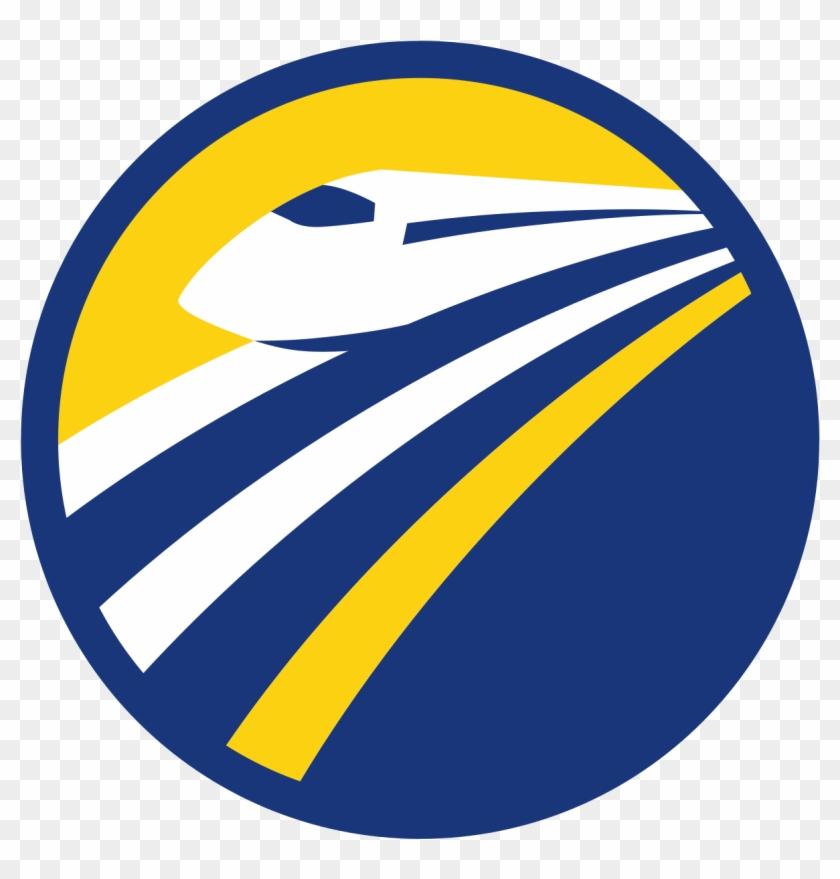 Bullets Clipart High Speed - California High Speed Rail Authority Logo #1428628