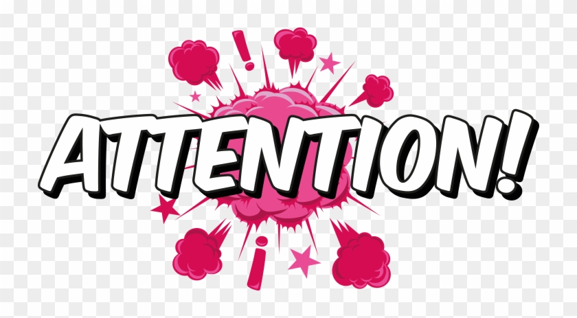 A Couple Of Things To Bring To Your Attention - Your Attention Please Png #1429275