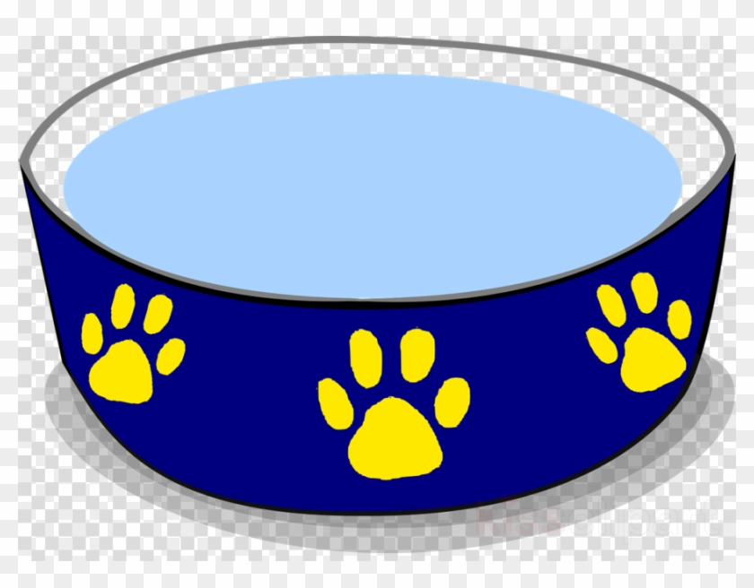 Dog Water Bowl Clipart Dog Food Clip Art - Dog Bowl Clipart Png #1429423