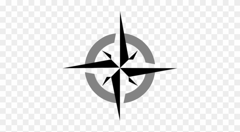 Geograph - Simple Blank Compass Rose #1430988