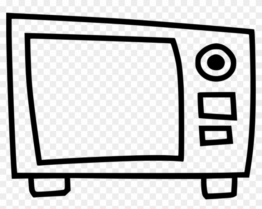 Clipart Resolution 980*736 - Microwave Oven #1431381