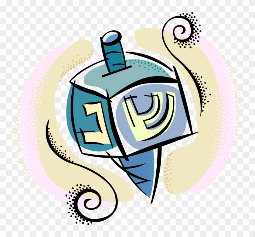 Hanukkah Dreidel Vector - Dreidel #1431415