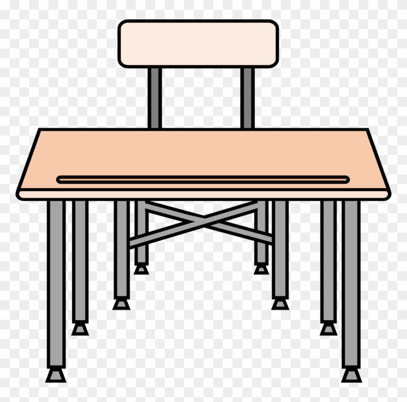 Office Chair - Student Desk Clipart #1433311