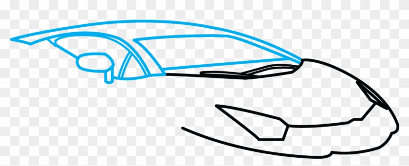 Car Outline Modified Clip Art Free Vector In Open Office Cartoon