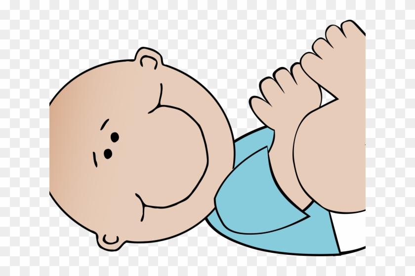 Moves Clipart Active Boy - Baby Boy Clip Art #1433710