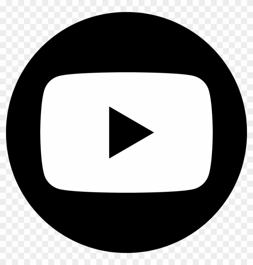 Youtube Dark Circle - Youtube Icon Png Circle #222734