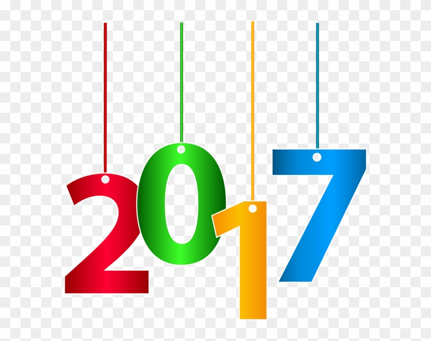 2017 Hanging Transparent Clip Art Png Image - Goodbye 2017 Happy New Year 2018 #222840
