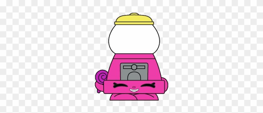 Bubblicious Art - Shopkins Bubble Gum Machine #222847