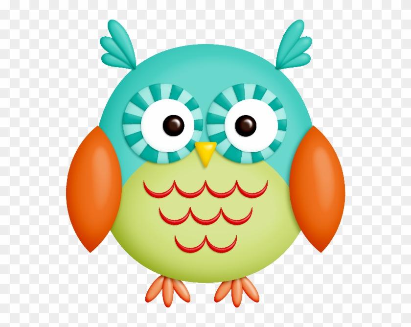 Pájaros, Buhos, Botones, Lazos, Flores, Cintas, Marcos - Dibujo Del Buho De La Suerte #222916