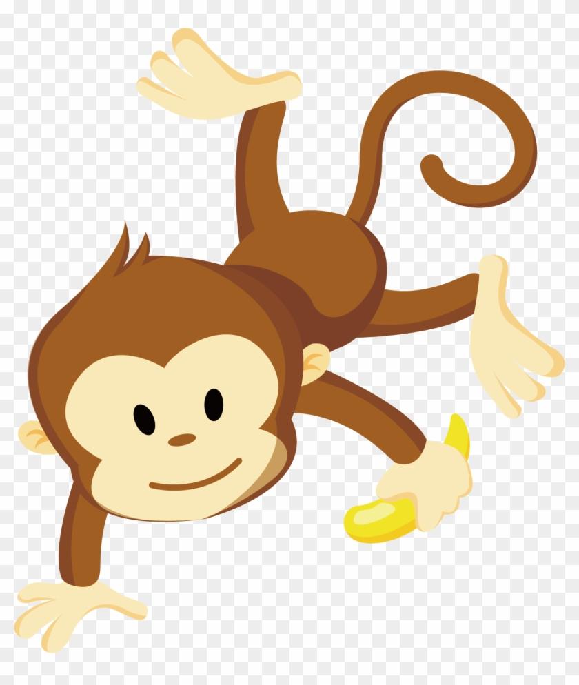 Monkey Clip Art - Transparent Monkey Vector #223113