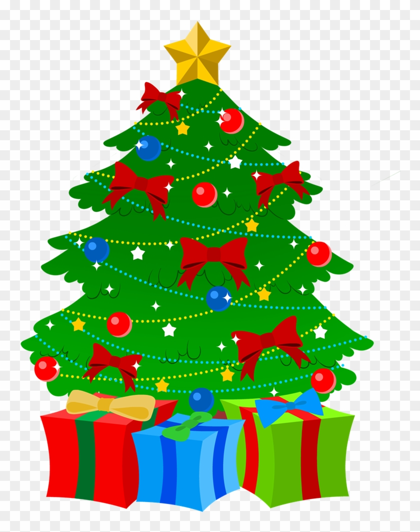 Christmas Arts Christmas Tree Presents Clip Art Free Transparent