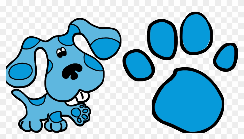 blue s clues clip art and footprint clipart png blues clues rh clipartmax com blues clues clip art images blue's clues logo clipart