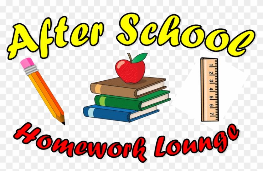 Homework Clipart After School - School Books Clip Art #223314