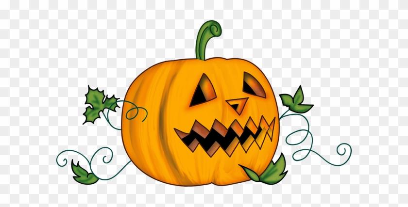 Artwork And Clipart - Halloween Pumpkin Clipart Transparent #223428