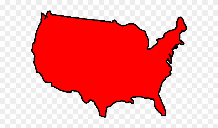 red usa map png free transparent png clipart images download rh clipartmax com us map clip art printable us map clip art powerpoint