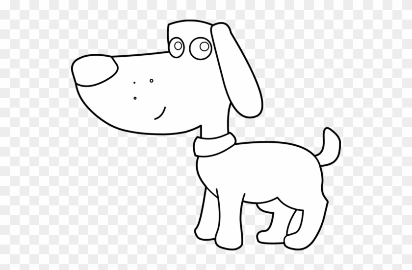 Dog Clipart Line Drawing Hair On Food Aol Image Search - Dog Clipart Black White #223703