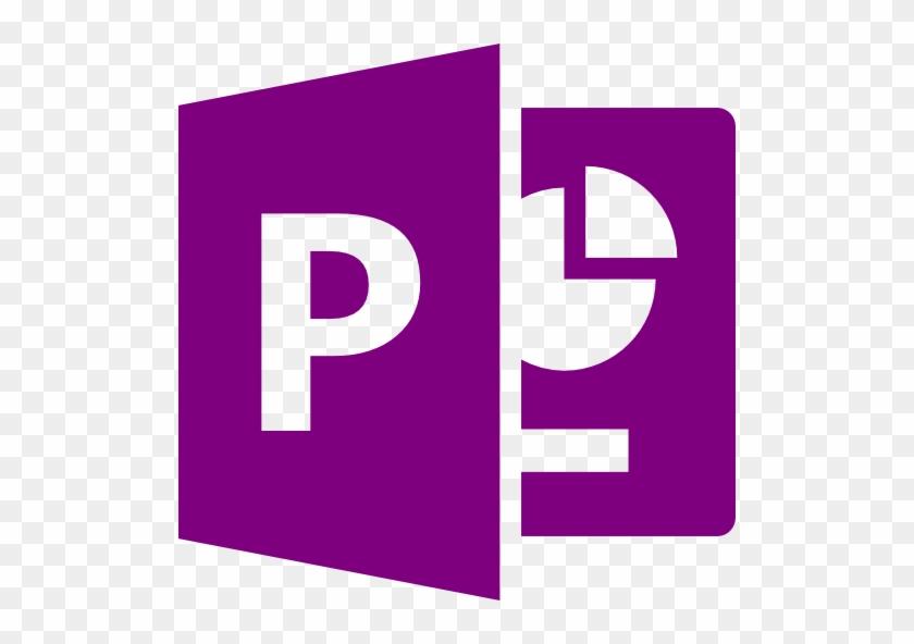 Microsoft Powerpoint Icon Black #223837