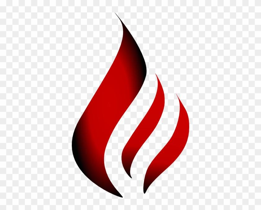 R&o&b Flame Logo Clip Art - Red Fire Flame Logo #224098
