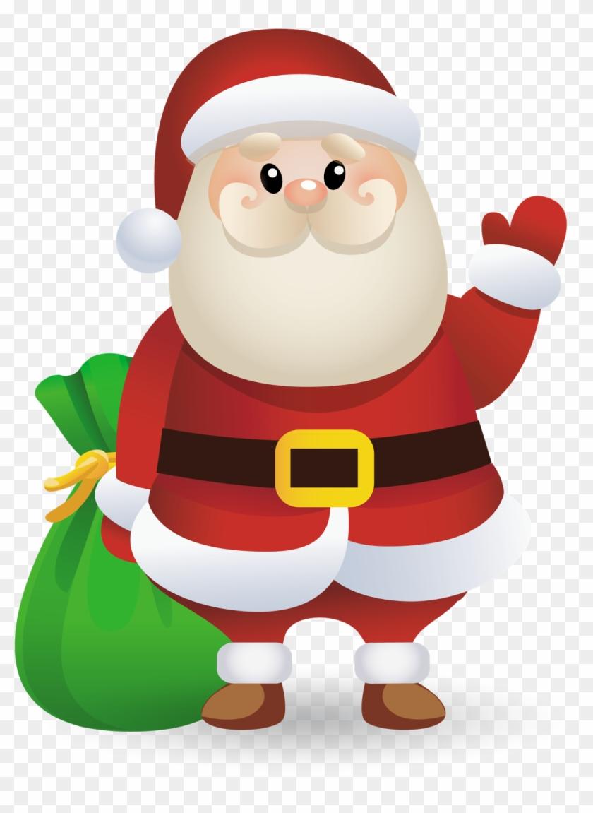 santa ‿✿⁀° - santa claus clipart - free transparent png clipart images  download  clipartmax