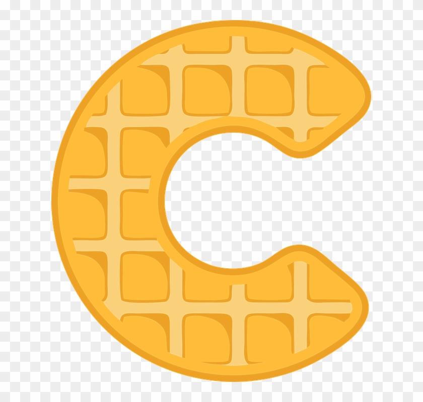 C T Flyer - Waffle Font #224267