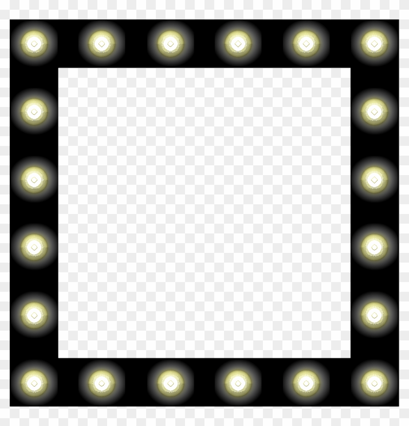 Showbiz Make-up Mirror Style Frame Clipart Free - Vanity Mirror ...