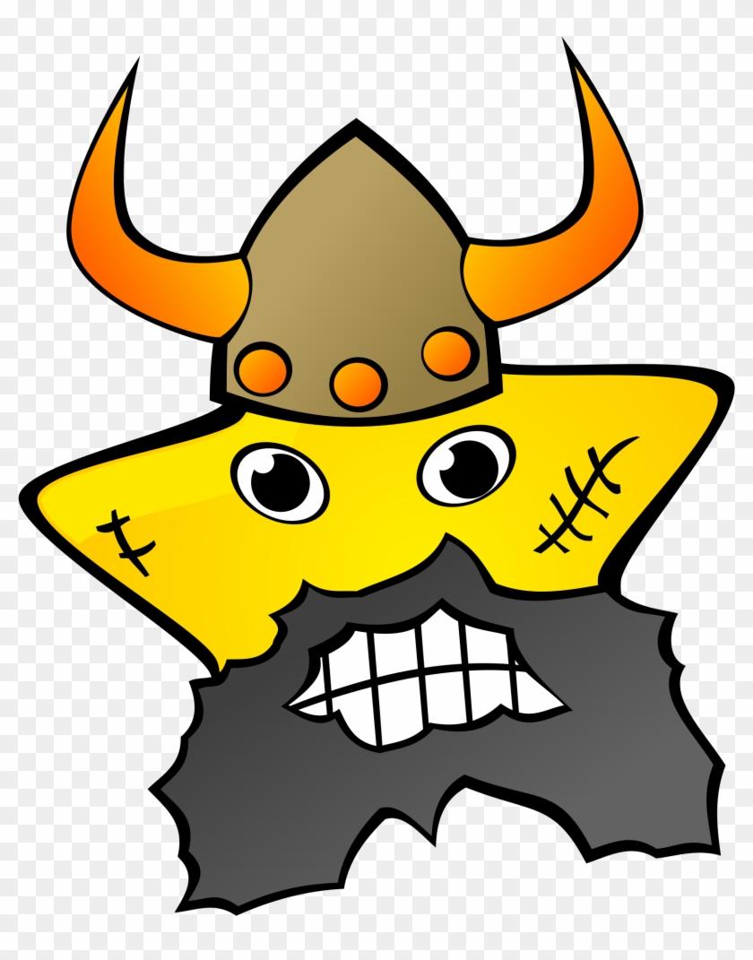 Get Notified Of Exclusive Freebies - Viking Yellow Star 1 25 Magnet #224540