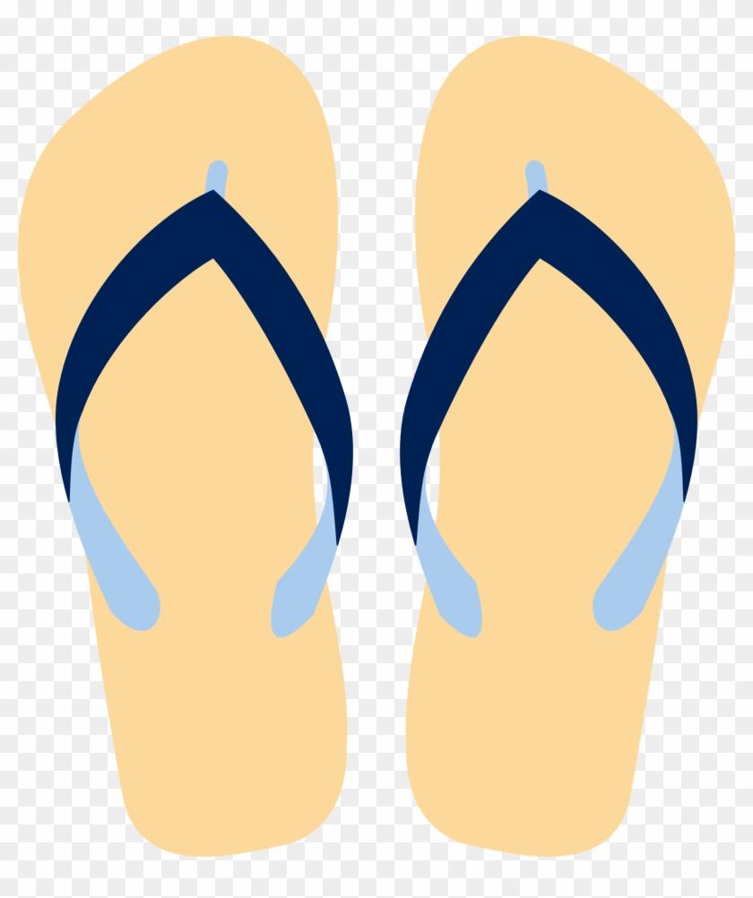 Similar Clip Art - Flip Flops Vector Png #224544