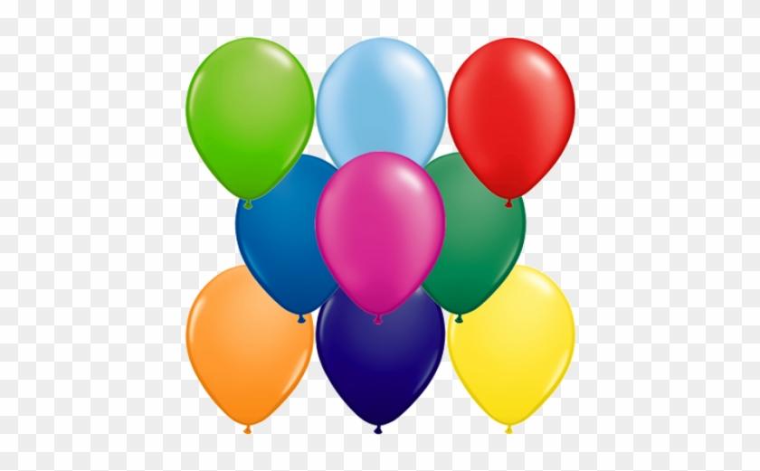 Metallic Balloons Party Decoration Black 50 Pieces #224808