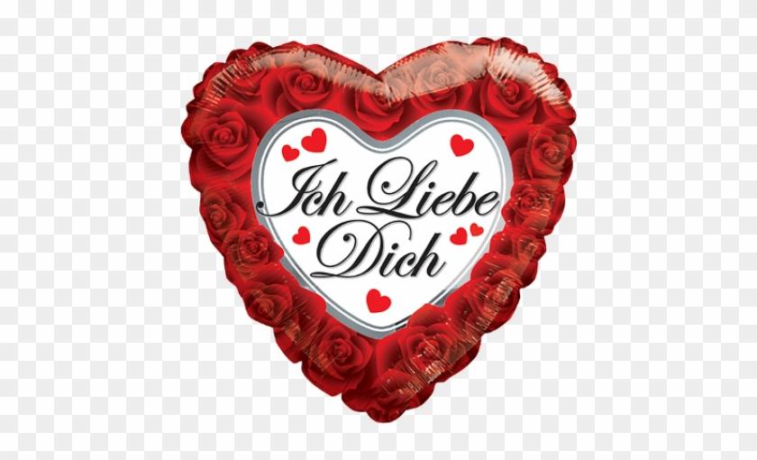 "18"" Rosas Feliz Dia De San Valentin - Mylar Balloons #225026"