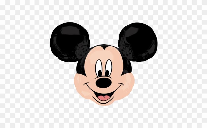 Birthday 70cm Balloons Mickey Mouse Head Shape Balloon 225035