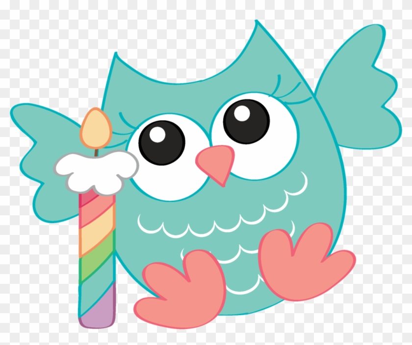 Ladylony Альбом «png Pack / Birthday Owls» На Яндекс - Cute Owl Birthday Png #225213