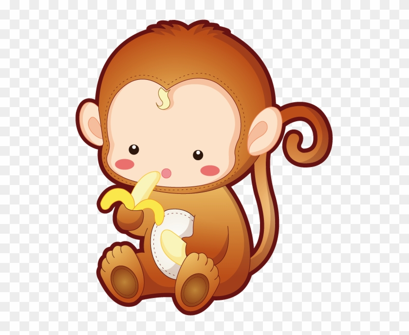 Abe045 - Baby Monkey Cute Cartoon #225254