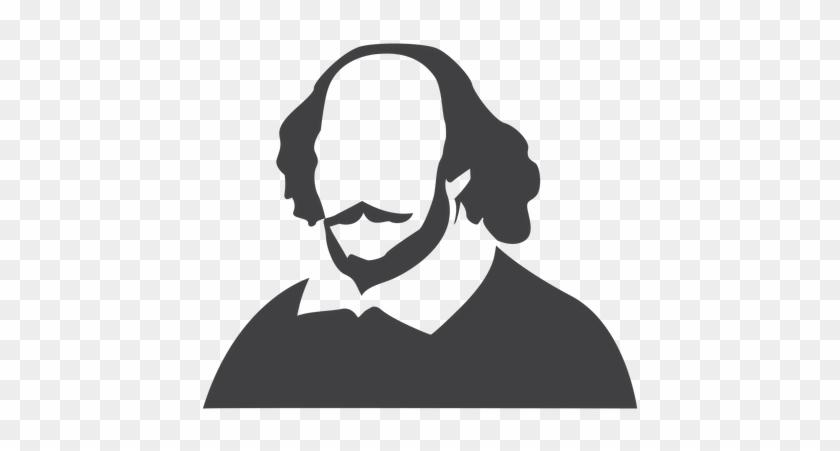 Shakespeare Clipart Transparent - Shakespeare Silhouette #225566