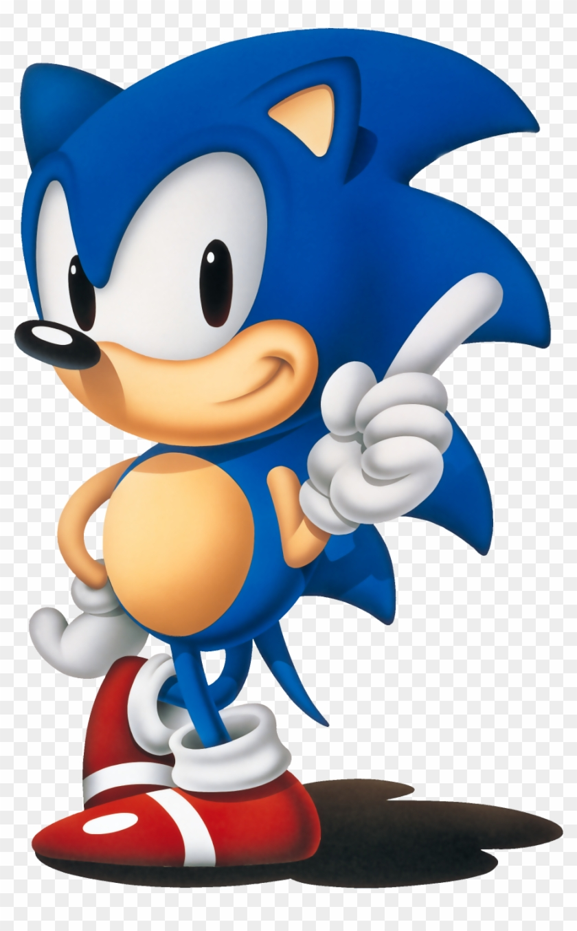 Sonic Classic Sonic The Hedgehog Png Free Transparent Png Clipart Images Download