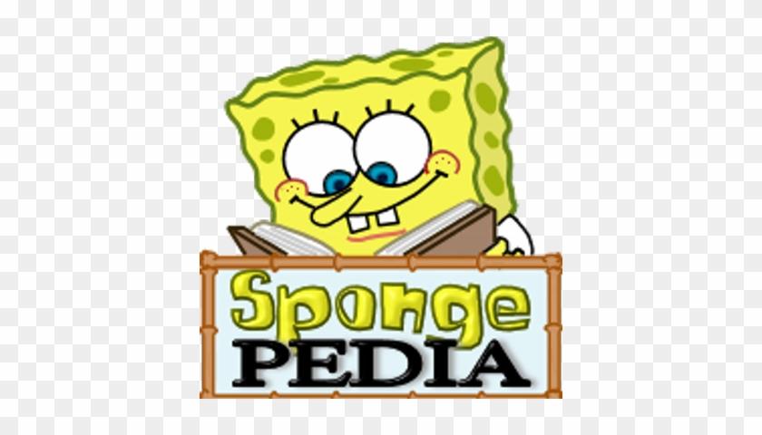 Spongepedia Bob Esponja Estudiando Free Transparent Png