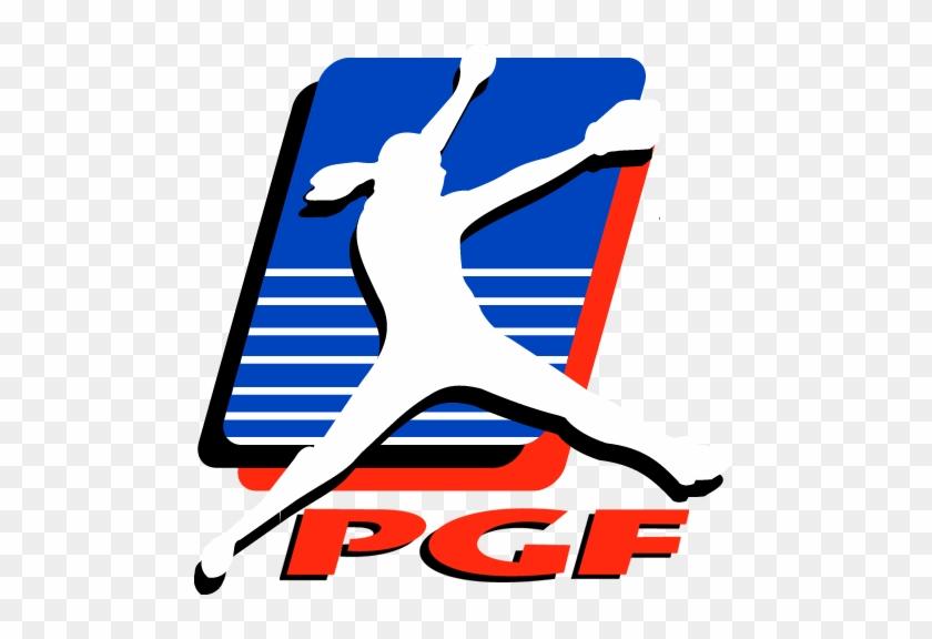 Games Streamed Live By Flosoftball At Http - Pgf Softball Logo #226016