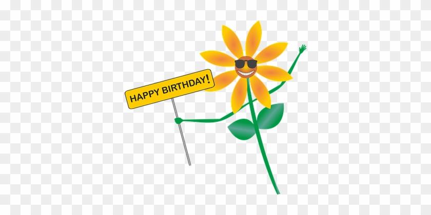 Happy Birthday Geburtstag Gluckwunsch Blum Happy Birthday Png