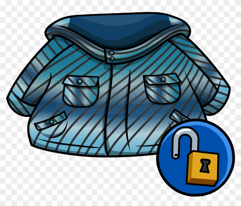 Image Blue Winter Png Club Penguin Wiki - Club Penguin Winter Jacket #1434235
