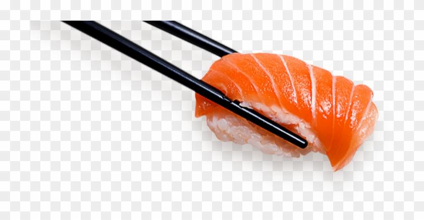 Clip Free Clipart Sushi - Salmon Chopsticks Png #1435967