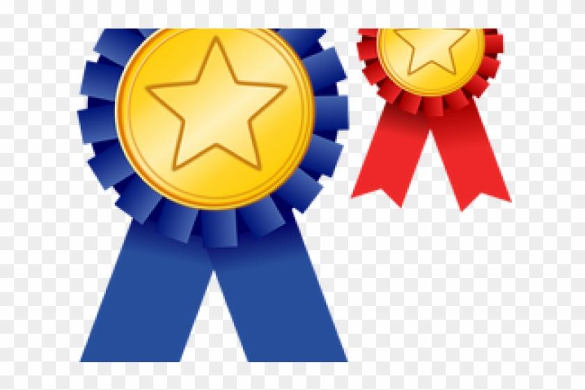Medal Clipart Academic Medal - Ribbon For Awards Clipart #1436386