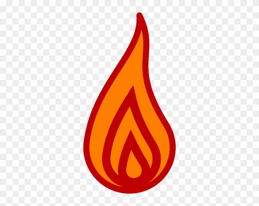 Candle Flame Clipart #1436455