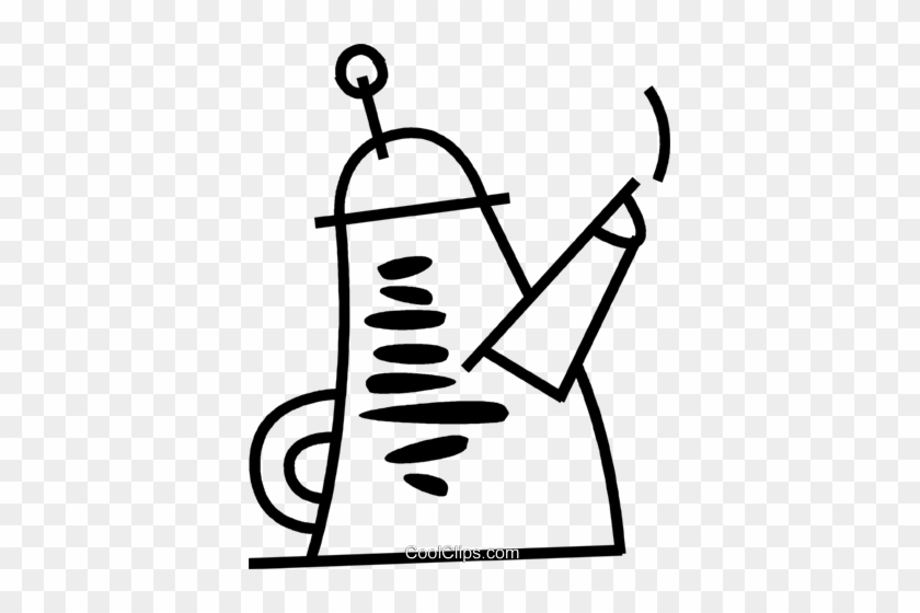 Tea Kettle Royalty Free Vector Clip Art Illustration - Tea Kettle Royalty Free Vector Clip Art Illustration #1436847