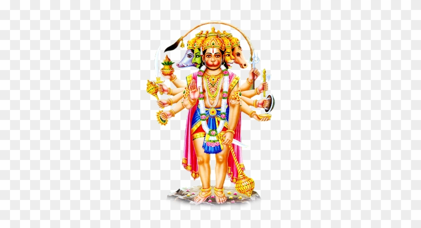 House Of Lords Ratnatraya Panchmukhi Hanuman Ji Sticker Free