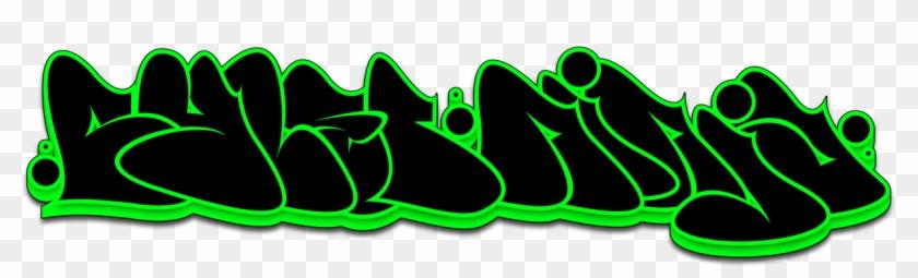 Cyberninja Graffiti Throwup By Geoh-one - Graffiti - Free